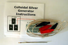 Colloidal Silver Generator (Comes with .999 fine silver electrode)
