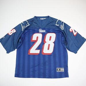 Vtg 90s Curtis Martin New England Patriots Starter Football Jersey Men's 52 XL