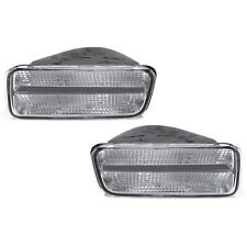 OEM NEW Front Fog Light Turn Signal Lamp Right & Left Set (2) 85-92 Camaro