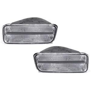 OEM NEW Front Fog Light Turn Signal Lamp Right & Left Set (2) 85-92 Camaro