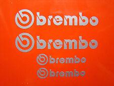 2 X 80 Mm Y 2x 54 Mm Brembo Plata Mitsubishi Evo Pinza de freno de etiquetas, etiquetas engomadas