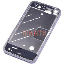 Silver Bezel Middle Frame Middle Chassis Housing Plate for Apple iPhone 4 4G