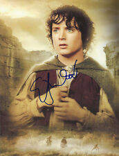 ELIJAH WOOD LORD OF RINGS SIGNED 8X11 COLOR PHOTO GREAT ITEM