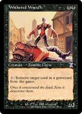 WITHERED WRETCH Time Spiral Timeshifted MTG Black Creature — Zombie Cleric