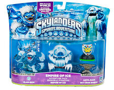 NIB Skylanders Spyro Adventure Pack EMPIRE OF ICE Slam Bam Anvil Rain Skylander