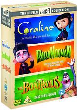 Coraline/ParaNorman/The Boxtrolls (Box Set) [DVD]