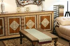 Mother of pearl Inlaid Moroccan Sideboard - console on solid teak