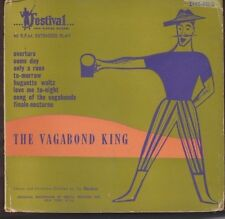 """Vagabond King - Alfred Drake, Mimi Benzell, Jay Blackton 7"""" picture sleeve 45rpm"""