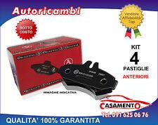 KIT 4 PASTIGLIE ANTERIORI FIAT PUNTO 1.2 8V 44kw 1999 2003