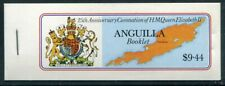 ANGUILLA  318a  Beautiful Mint NEVER Hinged $9.44  Booklet UPTOWN