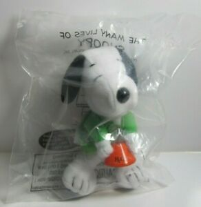 McDonald's 2001  The Many Lives of Snoopy plush toy #15 Scientist unopened