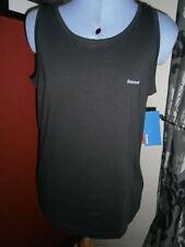 Reebok Cotton Patternless Sleeveless T-Shirts for Women