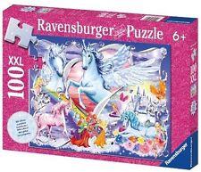 Ravensburger Unicorns 100pc XXL Glitter Puzzle 13928