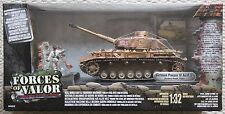 FORCES OF VALOR TANKS 80314 GERMAN PANZER IV TANK 1/32 /  DRAGON KING COUNTRY