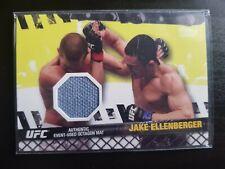 Topps ufc 2010 Jake Ellenberger Fight Mat relic