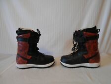 mens-NIKE-Zoom Force 1- snowboard boots(US-8.5)(Eu-42)red/black