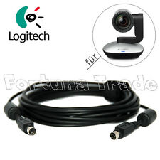 Original Mini-Din Kabel 5m für Logitech CC3000e Conference Camera Kamera Cam