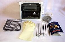 Ronco Compact Showtime Professional Rotisserie & BBQ Oven 3000 Series White