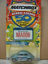 MATCHBOX ACROSS AMERICA 50TH BIRTHDAY SERIES 1962 VOLKSWAGEN BEETLE  1/64