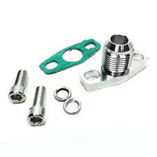 -10AN turbo oil drain flange adaptor male Fit GT25 GT28 T25 T28 GT30 GT35 gar...
