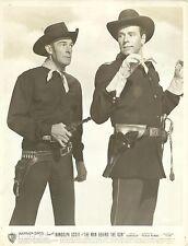 """RANDOLPH SCOTT & PHILIP CAREY in """"The Man Behind the Gun"""" Original Vintage 1953"""
