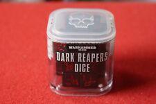 Eldar craftworlds Dark Reapers dados nuevos Juegos taller Warhammer 40k segadores fuera de imprenta