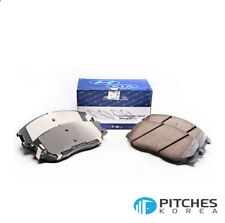 Genuine Hyundai Kia SANTAFE SPORT(DM) SORENTO Brake Pad Set(Front) - 58101-2WA00