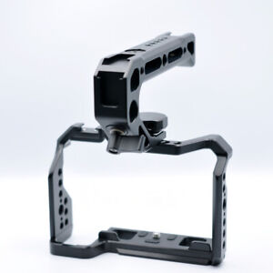 For Fuji X-S10 Fujifilm XS10 Cage Rig Nato Rail Arca Swiss Plate With Handle