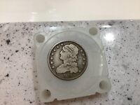 1833 25C Capped Bust Silver Quarter *Grand Pa's Collection* Better Date Bargain