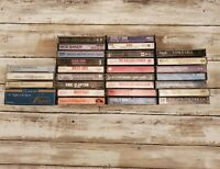 Lot of 30 Cassettes, Pop, Classic Rock, Country, Classical Various Years