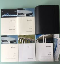2014 LEXUS GS350/450h WITH NAVIGATION OWNERS MANUAL SET + FREE SHIPPING