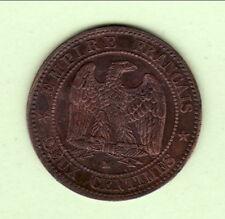 NAPOLEON III 2 CENTIMES 1853 MA   TB  a  TTB   RARE