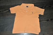 BOYS GAP ORANGE SHORT SLEEVE POLO TOP T-SHIRT SIZE 3 YEARS