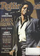 James Brown Rolling Stone Jan 2007 Ahmet Ertegun Mary J Blige Big Coal
