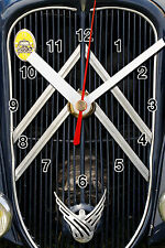 HORLOGE MURALE logo ancien CITROEN TRACTION -02M