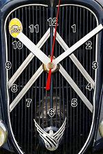 HORLOGE MURALE logo ancien CITROEN TRACTION -02M