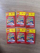 Sainsburys Lego Create The World Living Amazingly 6 Packs (24 cards) Unopened