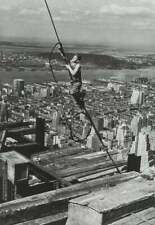 LEWIS W. HINE - Skyboy, Empire State Building - Photo Litho
