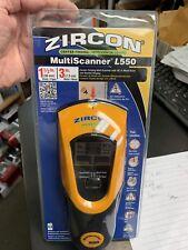 Zircon Center Finding MultiScanner L550 OneStep Wall Scanner *Brand New*