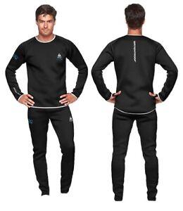 Waterproof MeshTec 3D Drysuit Undergarments Inner Liner Mens ML Top And Bottom