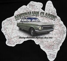 FORD XP, AUSTRALIAN CLASSIC DIE CUT MAP 480 mmx470 mm All Weather Metal Sign