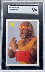 1990 Classic WWF Hulk Hogan #57 SGC 9