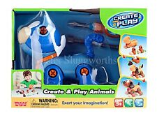 NEW Happy Kid Toy Group Create and Play Animals Toy Cat Learning Develop Skill