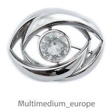 Teka Silber Brosche Bergkristall Modernist silver pin brooch mountain crystal