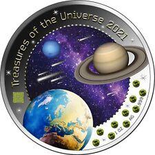 5 Cedis Ghana 2021 - 1 OZ Treasures of the Universe 2021