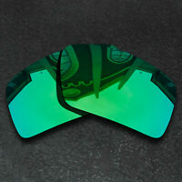 Green Replacement Lenses For-Oakley Eyepatch 2 Sunglasses Frame Polarized