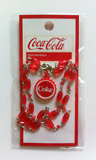 NEW COCA COLA Collectors Coke Charm Necklace X-MAS STOCKING STUFFER Jewelry NWT