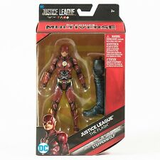 """DC Comics Multiverse Justice League Movie Flash 6"""" With BAF Stepphenwolf"""