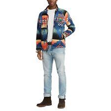 Polo Ralph Lauren - Southwestern Fleece Jacket - Beacon Multi - Medium - RARE!