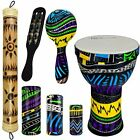 Rise by Sawtooth Jamaican Me Crazy Percussion Set with Djembe & Rain Stick picture
